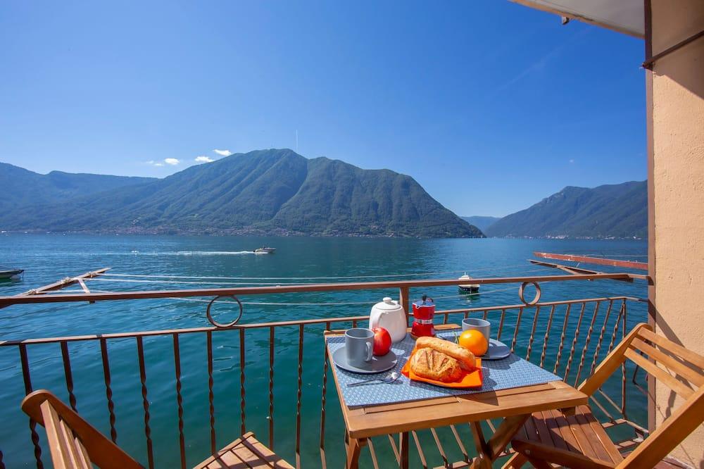 Novomanželské studio, dvojlůžko, výhled na hory, u jezera (Colonno Fronte Lago) - Hlavní fotografie