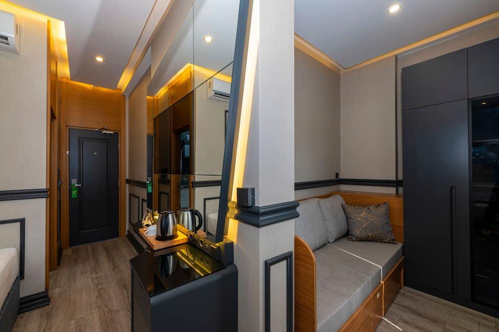 Deluxe tweepersoonskamer, voor 1 persoon - Woonruimte