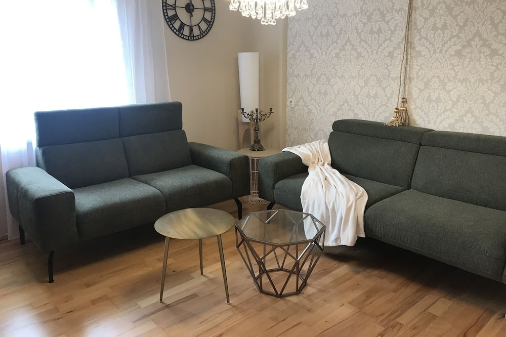 Comfort-Haus, 3Schlafzimmer, Nichtraucher, Sauna - Wohnbereich