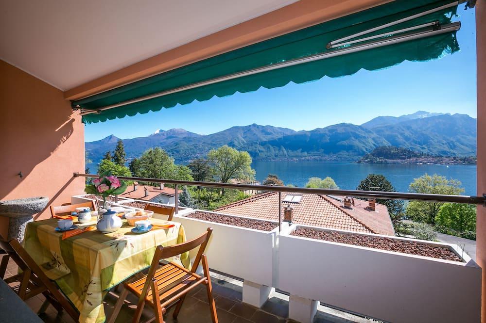 Family külaliskorter, Voodeid on mitu, 2 vannitoaga (Cadenabbia Vista Lago) - Rõdu