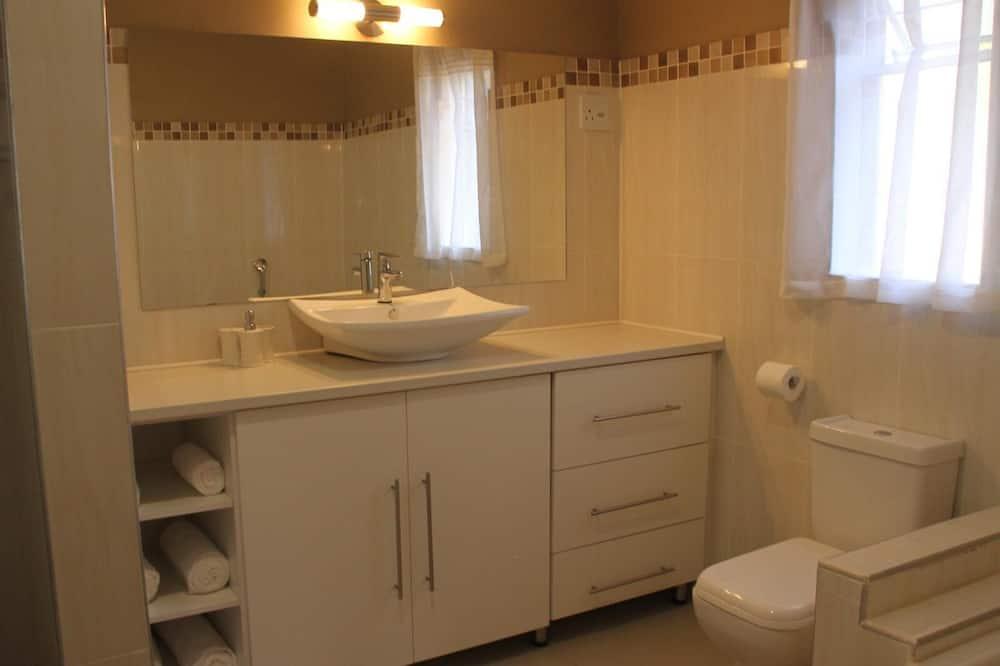 Luxusní apartmá, 1 ložnice - Koupelna