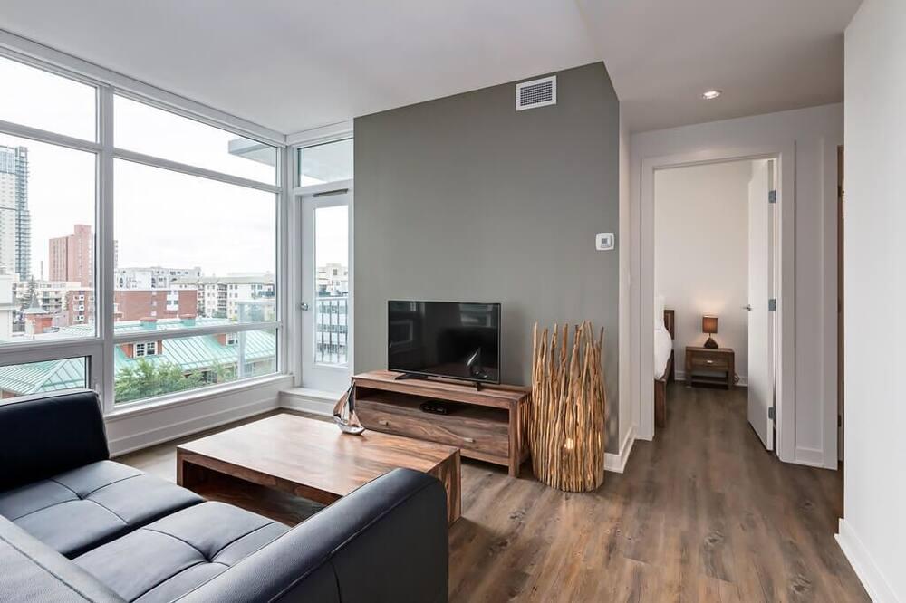 Апартаменти, 1 спальня, для некурців - Житлова площа