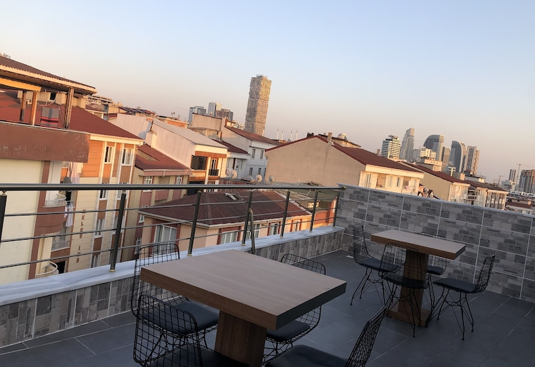 Marmara Apart Otel, Istanbul, Terrasse/Patio
