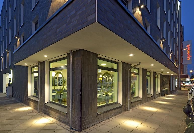B&B Hotel Dortmund-City, Dortmund, Fachada do Hotel - Tarde/Noite