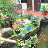 經濟雙人房 - 花園景觀