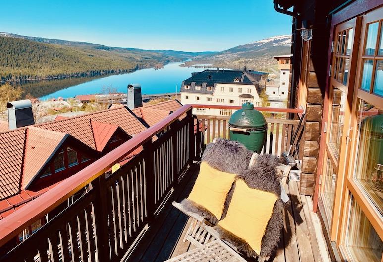 Åre Travel - Tottvillan, Are, Villa Panoramique, Balcon