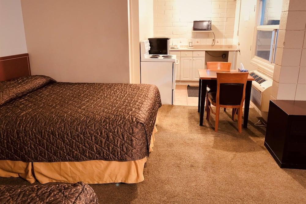 Класична студія-люкс, для некурців, кухня - Житлова площа