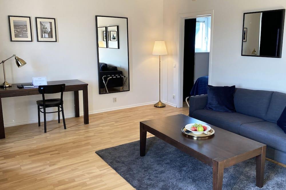Apartamento superior - Zona de estar