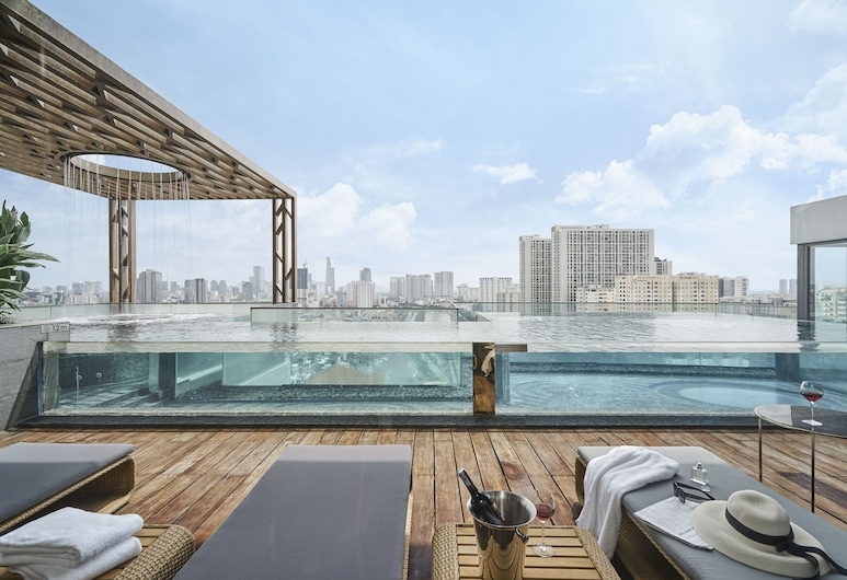 D1Mension Residences, Ho Chi Minh City, Rooftop Pool