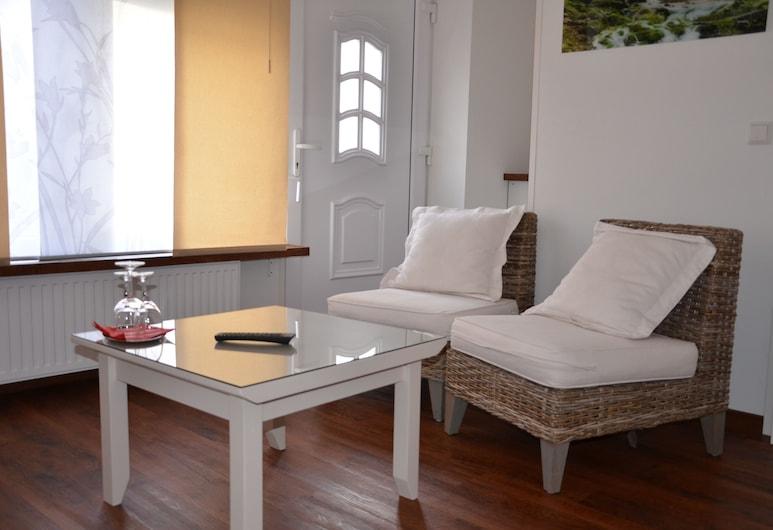 Hotel am Nordkreuz, Harrislee, Basic-Einzelzimmer, Wohnzimmer
