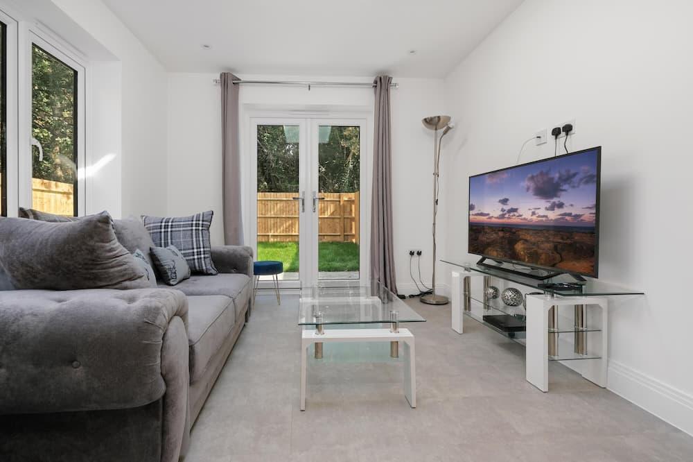 럭셔리 아파트 - 거실 공간