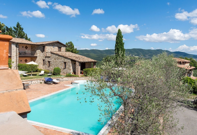 Quaint Holiday Home in Collazzone With Sauna & Whirlpool, Collazzone, Pool