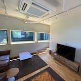Standartinio tipo dvivietis kambarys (2 viengulės lovos), Nerūkantiesiems, bendras vonios kambarys - Svetainės zona