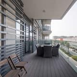 Pamatklases dzīvokļnumurs, vairākas gultas - Balkons