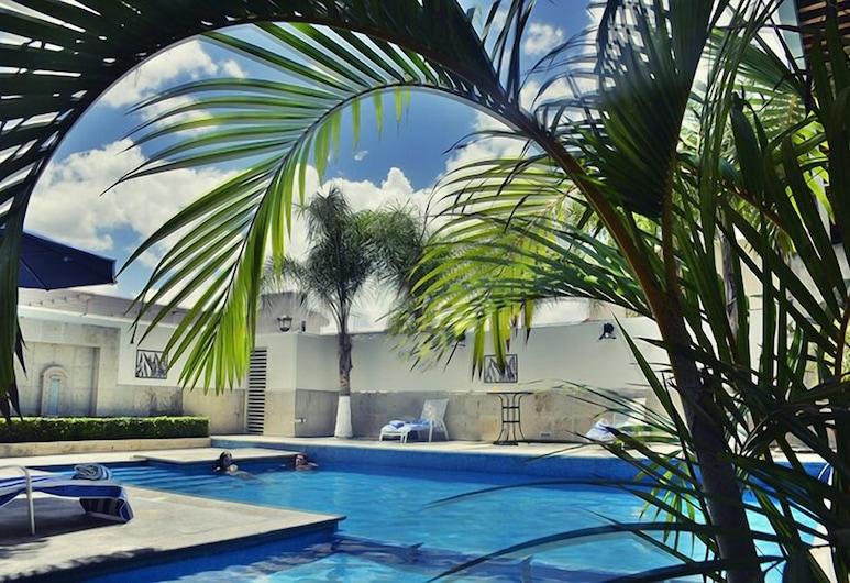 Hotel San Carlos Tequisquiapan, 特基斯基亞潘, 室外游泳池