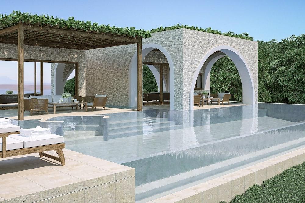 Royal Villa, 3 Bedrooms, Private Pool, Sea View - Private pool