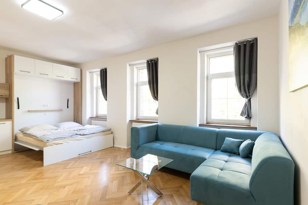 Appartement Supérieur, 1 chambre, cuisine (5) - Salle de séjour