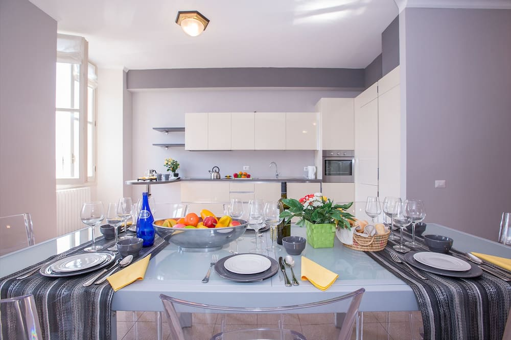 Obiteljski apartman, Više kreveta, vrt (Casa Daniele) - Obroci u sobi