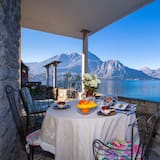 Family Apart Daire, Birden Çok Yatak, Bahçeli (Appartamento La Punta di Bellagio) - Balkon