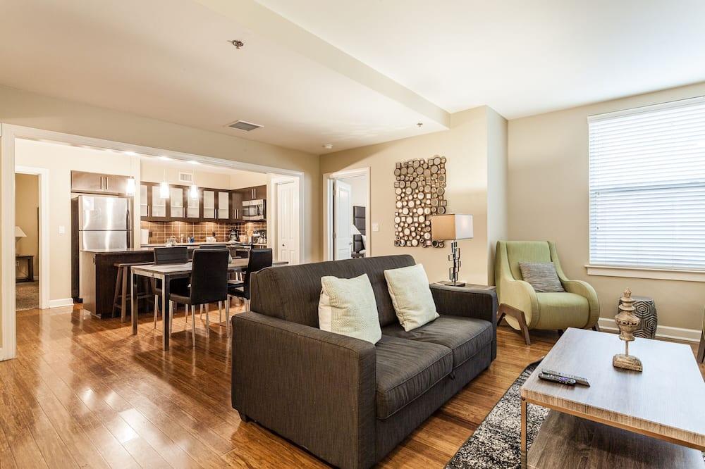City-Apartment, 2Schlafzimmer, Nichtraucher, 2 Bäder - Wohnbereich