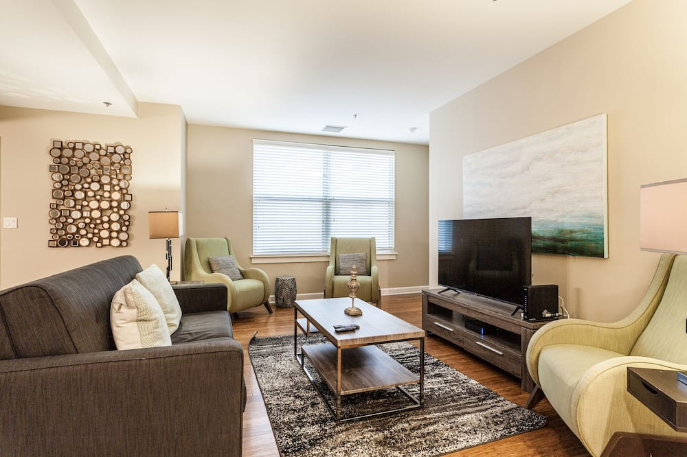Familienapartment, 3Schlafzimmer, Nichtraucher - Wohnzimmer
