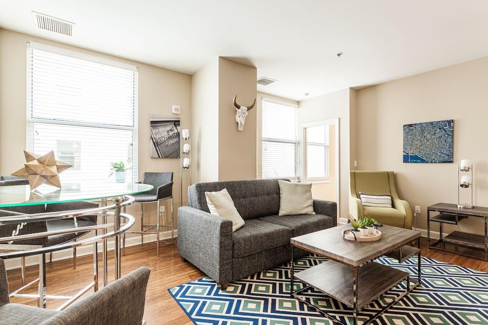 Executive-Apartment, 1King-Bett und Schlafsofa, Nichtraucher - Wohnzimmer
