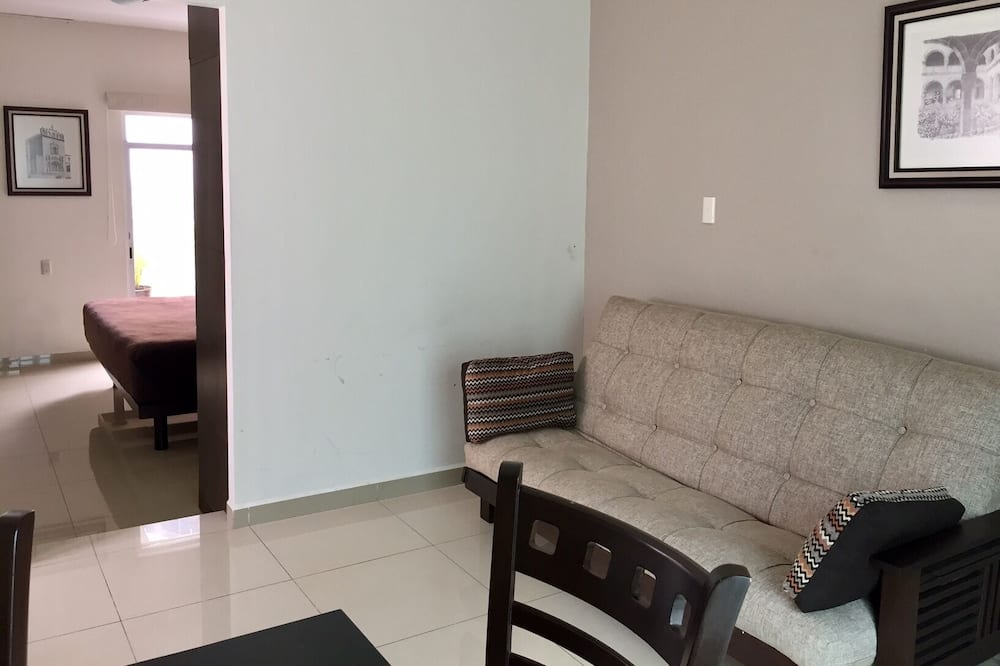 Superior Double Room, 1 Queen Bed with Sofa bed - Living Area