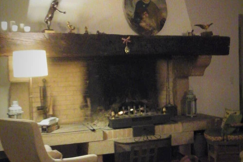 Comfort-Doppelzimmer, Nichtraucher, Gartenblick (Voyageurs immobiles) - Wohnbereich