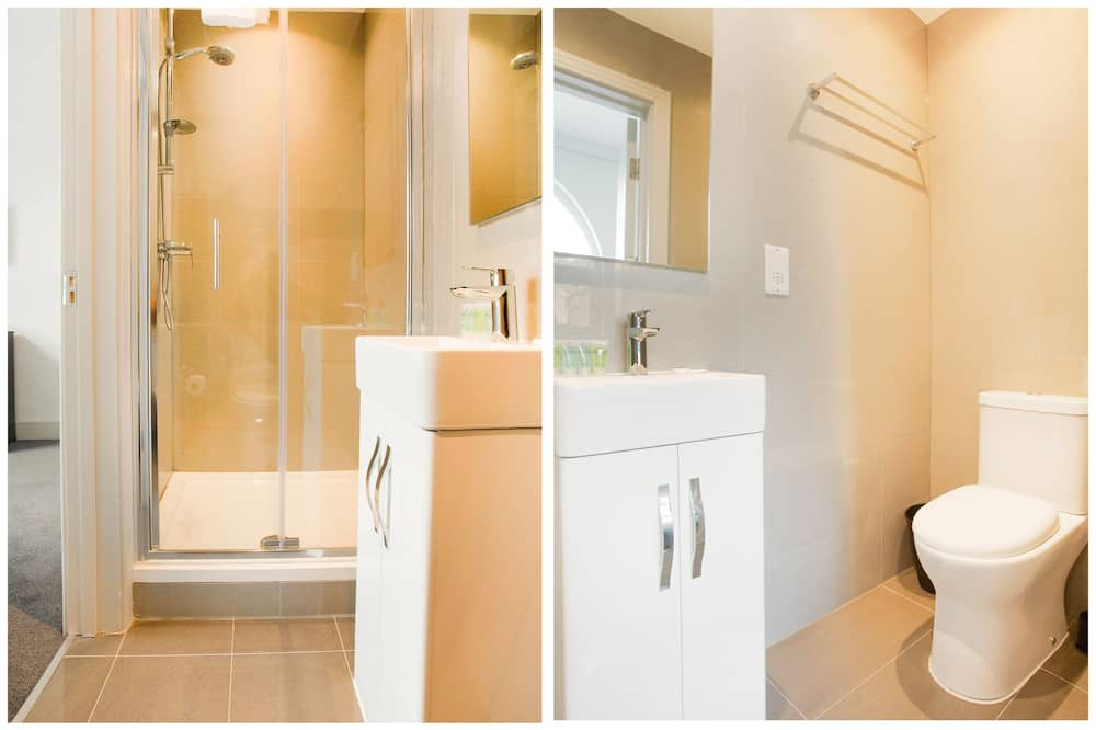 Dvojlôžková izba typu Classic, bezbariérová izba, vlastná kúpeľňa - Kúpeľňa