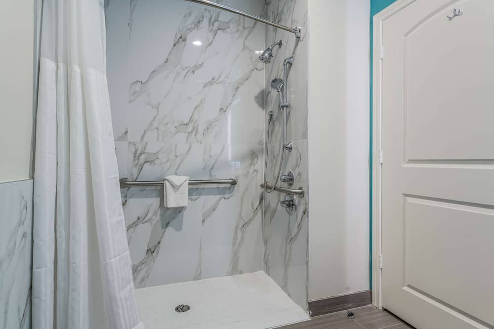 Kamer, 1 kingsize bed, Toegankelijk voor mindervaliden, niet-roken - Badkamer