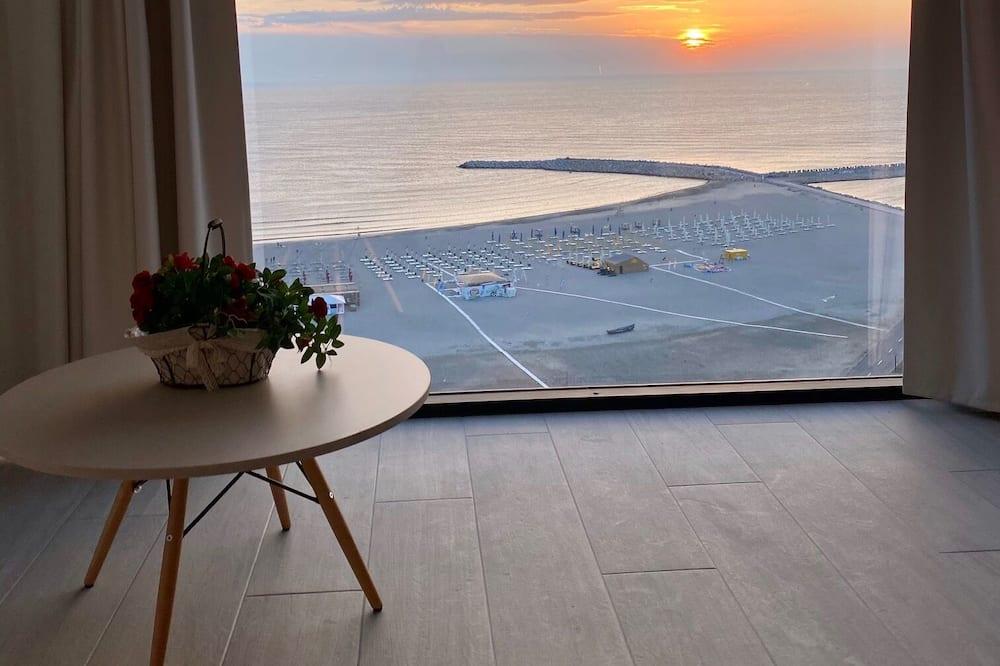 Panorama-lejlighed - Udsigt fra altan
