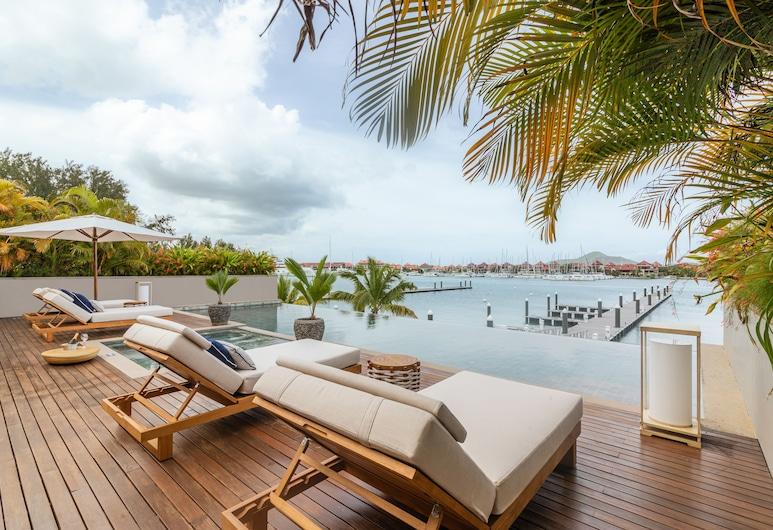 L'Escale Resort Marina & Spa, Mahe Island, Presidentiële villa, Uitzicht vanaf kamer