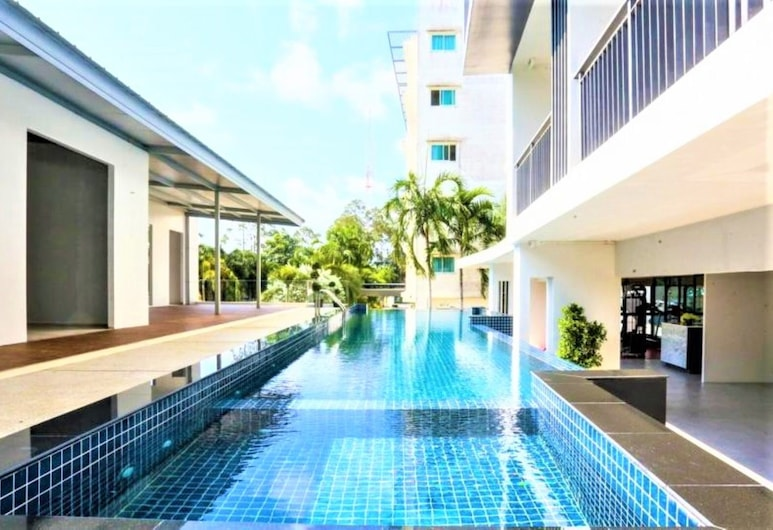 Phavina Grand Boutique, Rayong, Outdoor Pool
