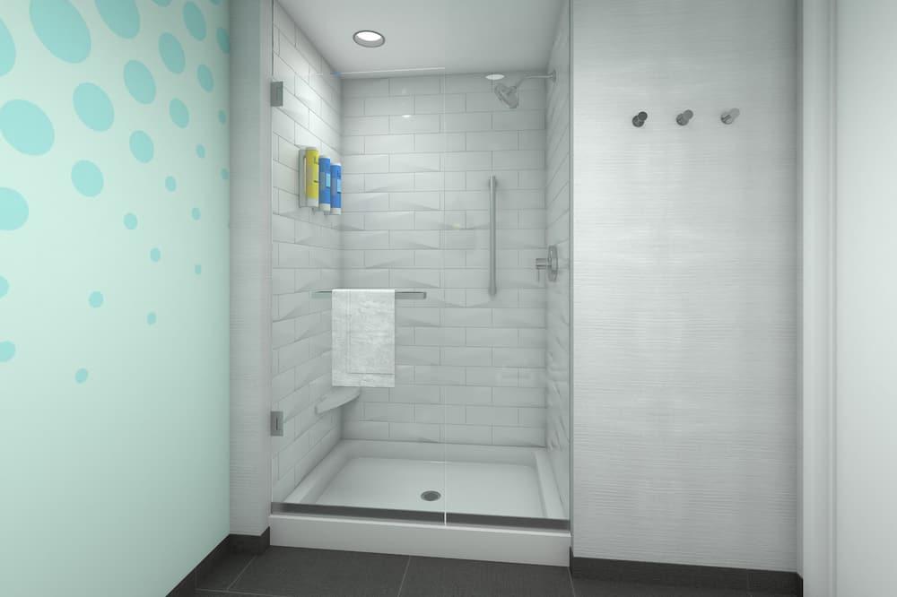 Zimmer, 1King-Bett - Badezimmer