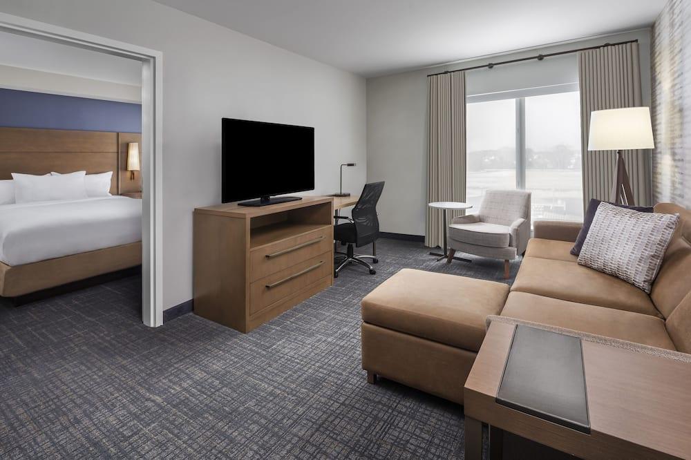 Suite, 1 Bedroom, Non Smoking (2 Queen Beds) - Living Area