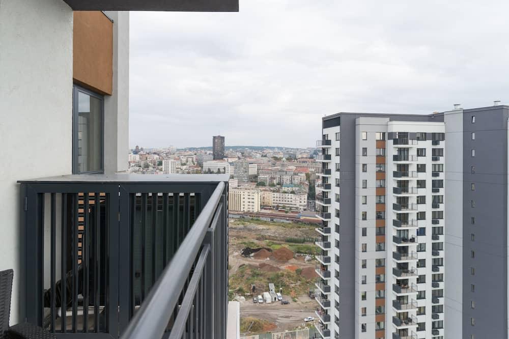 Apartament - Z widokiem na balkon