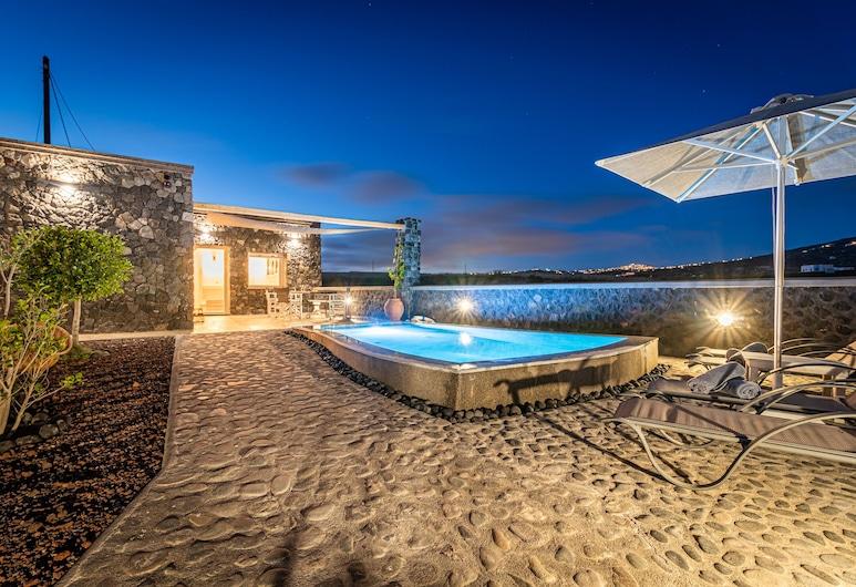 Klimata House - Private Jacuzzi Pool & BBQ Villa, Thira, Kúpeľňa