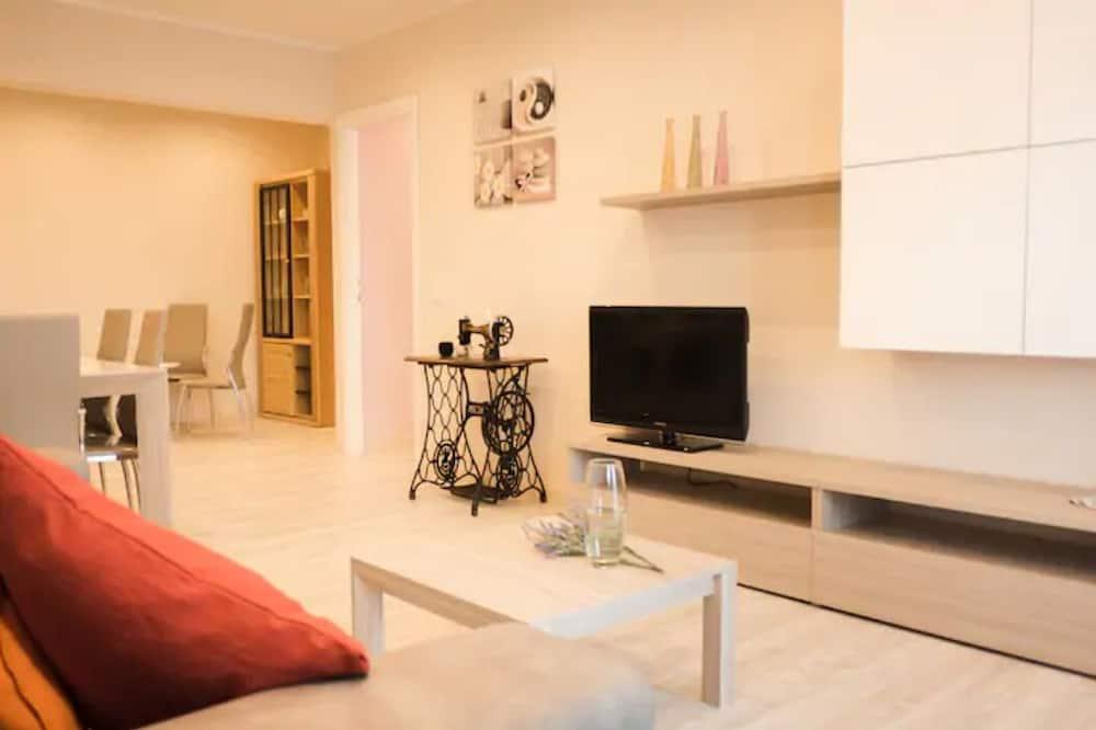 Apartamentai, 3 miegamieji (Viale Agosta) - Svetainės zona