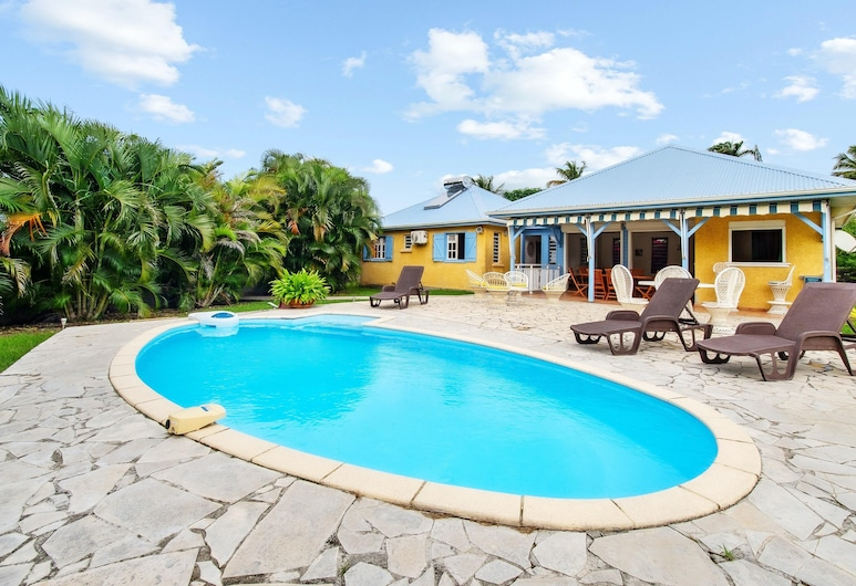 Villa With 4 Bedrooms in Saint-françois, With Private Pool, Enclosed Garden and Wifi - 4 km From the Beach, Saint-François