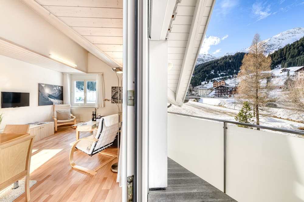 Apartment Mountain View (incl. Cleaning Fee & City Tax) - Svalir
