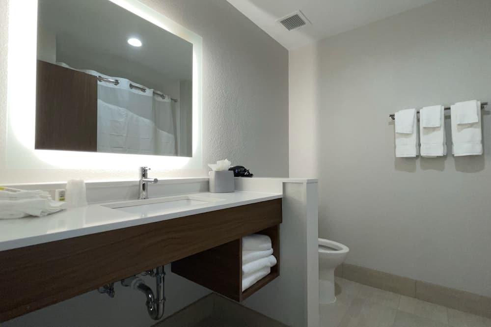 Zimmer, 2Queen-Betten, barrierefrei, Nichtraucher (Hearing) - Badezimmer