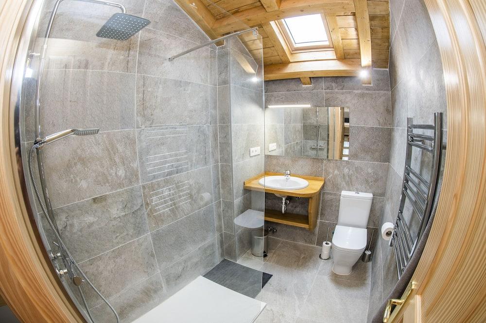 Duplex Standard - tillgänglighetsanpassat - eget badrum - Badrum
