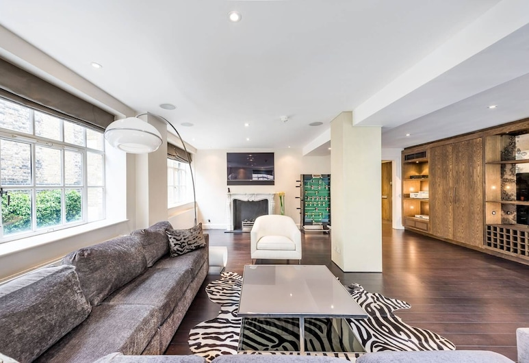 Hans Place Apartments, London, Apartment, 2 Queen Beds, Living Room