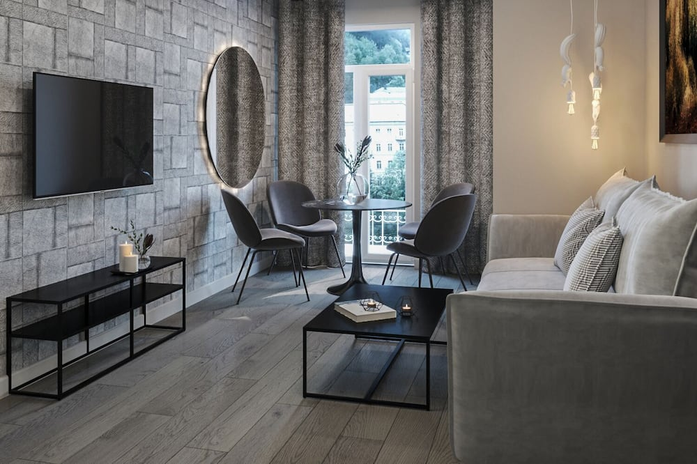 豪華公寓, 1 間臥室 - 客廳
