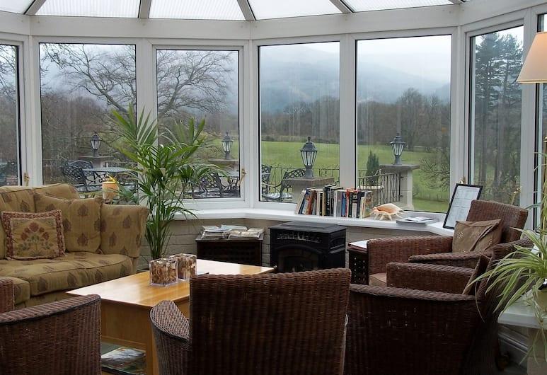 Ravenstone Lodge, Keswick, Hotellin lounge