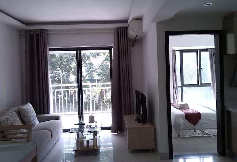 Shengang Apartment Shenzhen Yuhedi Branch, Shenzhen, Deluxe Suite, Living Area