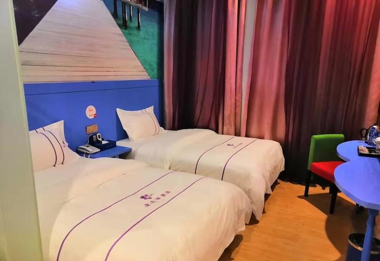 Lavender Hotel Shenzhen Huanan City Branch, Shenzhen, Habitación con 2 camas individuales, Habitación