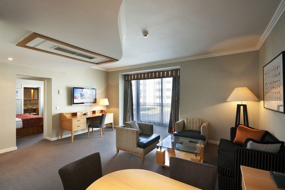 Deluxe Apartment (Golden Prague Residence) - Living Area