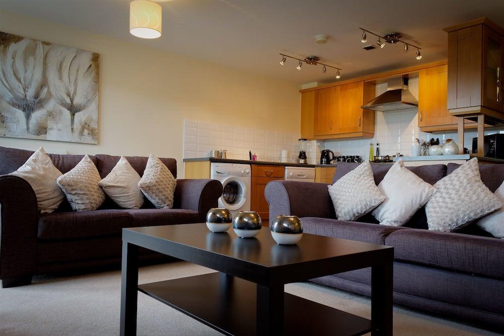Luxury Διαμέρισμα, Μπαλκόνι - Περιοχή καθιστικού
