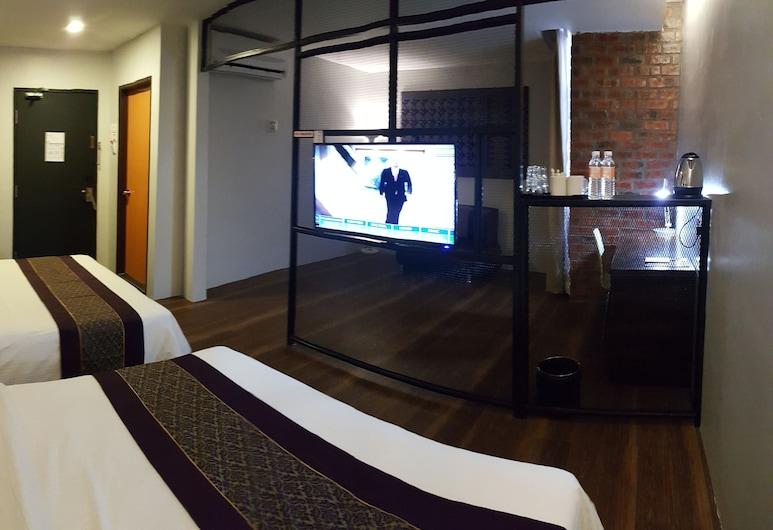 Super 8 Hotel @ Georgetown, Džordž Taunas, Liukso klasės kambarys, 2 didelės dvigulės lovos, Svečių kambarys